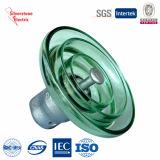U300 150KN Alta Tensión de discos Suspensión de vidrio templado aislante IEC