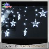 Indicatore luminoso di gomma bianco della stringa di natale della decorazione di colore 10m di vendita calda
