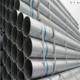 Труба строительного материала лесов Hot-DIP гальванизированная стальная