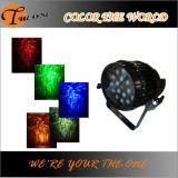 결혼식 훈장 RGBW LED 급상승 동위 빛