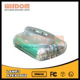 Lumière de casque de construction, phare de extraction, sagesse imperméable à l'eau de phare de DEL