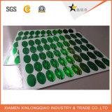 Autoadesivo di contraffazione falso del contrassegno dell'animale domestico del Libro Verde di stampa di laser anti