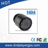 Mini câmera de opinião traseira do carro da visão noturna do diodo emissor de luz do tamanho