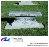 Grafsteen van de Stijl van de Bank van het Graniet van Shanxi de Zwarte, Grafsteen
