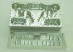 移動式カバー処理のための高精度の金属CNC機械(RTM800SHMC)