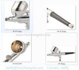 Luchtpenseel 0.4mm Compressor van het Luchtpenseel van het Spuitpistool van de Verf van het Gezicht van het Lichaam van de Uitrusting van de Make-up van de Naald De Vastgestelde