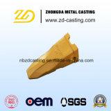 O dente o mais barato e clássico da cubeta para as peças de maquinaria da mineração