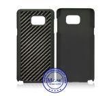 La mayor parte cubierta de la caja de lujo superventas de la alta calidad de fibra de carbono PC para Samsung Nota 5