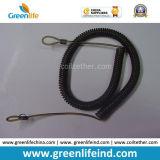 Черные пластичные концы катушки W/Loop весны для по-разному подгонянного вспомогательного оборудования