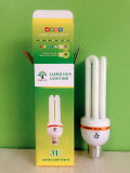12W 15W 18W T4 U 자 모양 CFL 에너지 절약 램프
