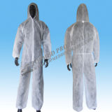 짠것이 아닌 Disposable Jackets 및 Protective Coveralls Uniform를 위한 Trousers