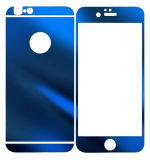 iPhoneのための緩和されたガラスミラースクリーンProtetcorを着色しなさい