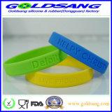 Wristband coloré professionnel de bracelet de silicone de Whoiesale