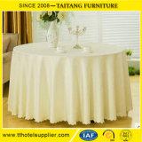 Ткань круглого стола полиэфира венчания для таблиц Китая