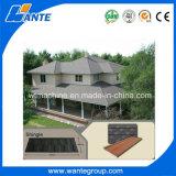最上質の石の上塗を施してある金属の屋根瓦の競争価格