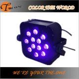 결혼식 훈장 무선 LED 편평한 동위 빛