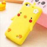 Caja del teléfono móvil de Palmatum del polluelo de las flores para el iPhone del caso del iPhone 6s 6 accesorios del teléfono del caso (XSDW-023)