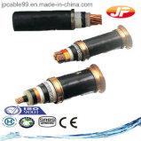 Низкий кабель электричества напряжения тока изолированный XLPE