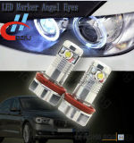 Olhos do anjo do marcador do diodo emissor de luz de E92 6W para BMW X5 E70