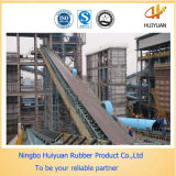 Bande de conveyeur en caoutchouc renforcée par textile de l'usine chinoise (NN250)