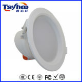 couverture en plastique SMD2835 DEL Downlight de 10W D140*H62mm