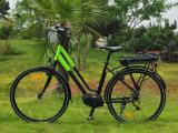 700c 250W女性のための中間モーター都市電気バイク