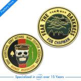 カスタム記念品の銀の金属の硬貨(KD-0165)
