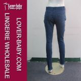 De hoge Taille Gescheurde Broek van de Jeans van de Manier van Jeanswear van Dames (L463)