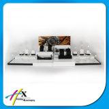 Soem-Acrylbildschirmanzeige-hölzerner Uhr-Bildschirmanzeige-Ausstellung-Standplatz