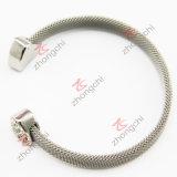 網のステンレス鋼の袖口の腕輪(CB01)