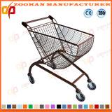 금속 슈퍼마켓 쇼핑 아크 모양은 짐마차로 나른다 트롤리 (ZHT278)를