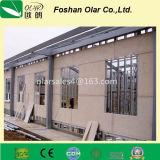 Placa reforçada fibra aprovada CE da divisória do teto do cimento
