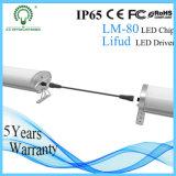 Lámparas para el precio de fábrica industrial del tubo de la Tri-Prueba LED de las vertientes 600m m IP65 30W