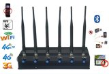 Signal Jammer Adjustable Desktop Jammer All Frequency Signal Jammer Signal Blocker 2g 3G WiFi 4G GPS G/M Signal Jammer