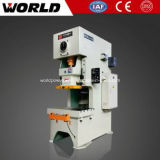 Máquina da imprensa de poder mecânico do metal de folha do frame de C (JH21)