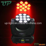12*10W 크리 말 RGBW 4in1 LED Mini Beam Moving Head