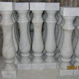 Gris en pierre normal/blanc en gros/jaune/rouge/noir/Brown/vert/balustre de marbre bleu de granit de matériaux de construction