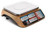 Elektronischer Preis, der Tisch-Schuppe (DH-605) rechnet, wiegend