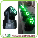 Cheap Professional 5X15W Rgbaw UV LED Moving Head Disco Light