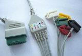 Nihon Kohden Snap&Clip 12pin Kabel 5 ECG