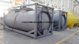 China Bueno Calidad 23000L 20FT acero al carbono 4 bar de presión del tanque de contenedores de cemento a granel