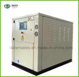 Refrigeratore di acqua a forma di scatola raffreddato ad acqua industriale con buona qualità (DLP-20WSZ)