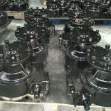 Center Pivot Irrigation System Center Drive Gearmotor G75-43、0.75HP、0.55kw Irrigation Gearboxのため
