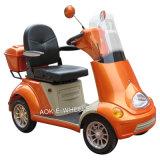 E-Vélo handicapé d'acide de plomb à quatre roues avec le frein de pied