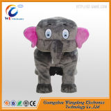 Coin Operated Amusement Plush Animal Toy Rides De Wangdong