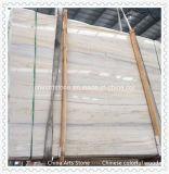 床のタイルやカウンターのための中国のホワイト/ブラック/ベージュ/木製マーブル