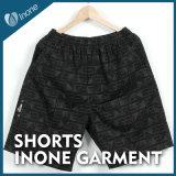 Inone 054 Mens nada Shorts ocasionais da placa das calças curtas