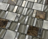 Mattonelle di alluminio Mixed del mosaico delle mattonelle & del marmo di mosaico di cristallo (FYL107)