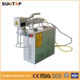 금속 플라스틱 안전 물개에 인쇄하는 기계를 인쇄하는 20W 섬유 Laser