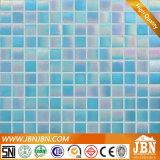 환상 파란 색깔 목욕탕 벽 유리제 모자이크 (H420046)
